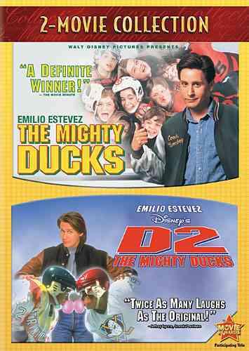 MIGHTY DUCKS/D2:MIGHTY DUCKS (DVD)
